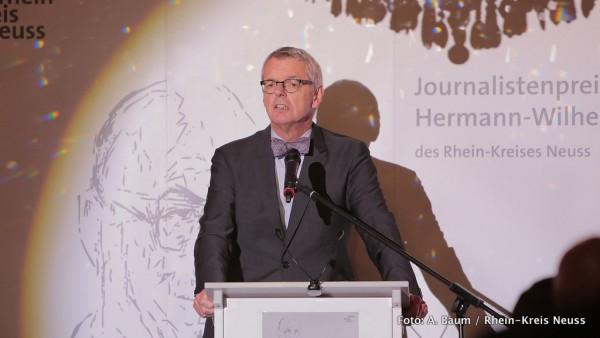 Laudator Dr. Helmut Reitze